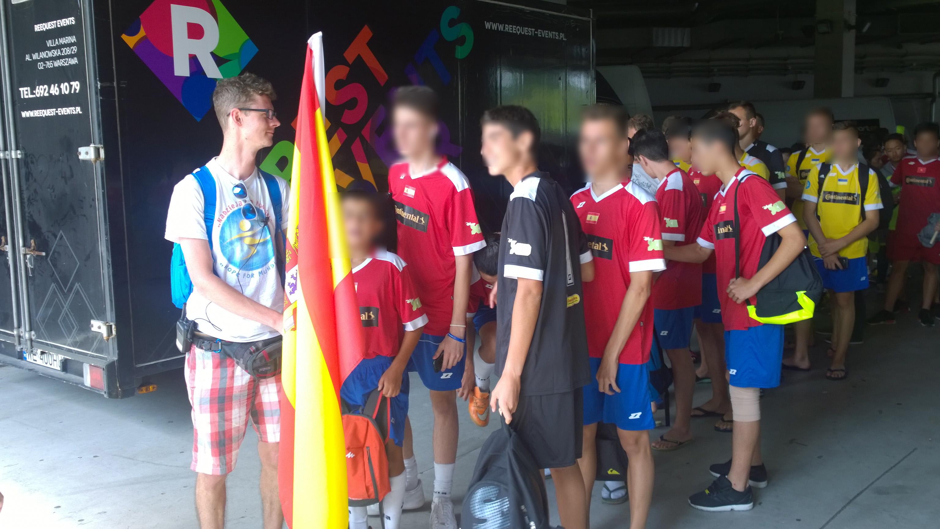 La Asociación Horuelo compite en el mundial de Polonia
