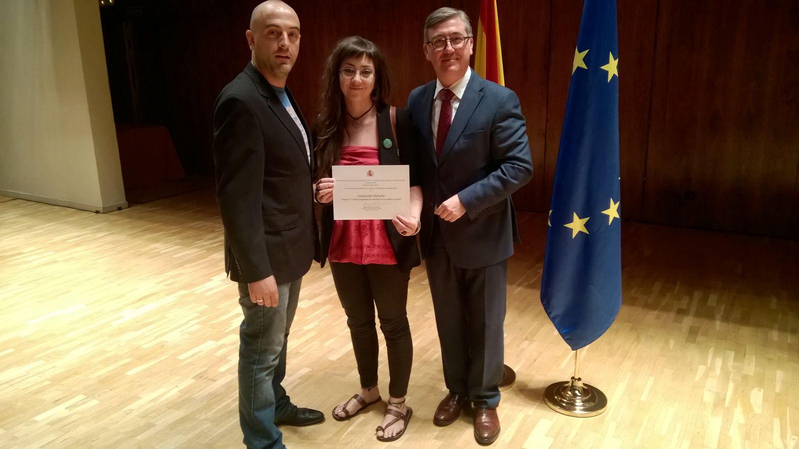 Entrega del Premio Nacional a la Intervención Socioeducativa en entornos educativos multiculturales
