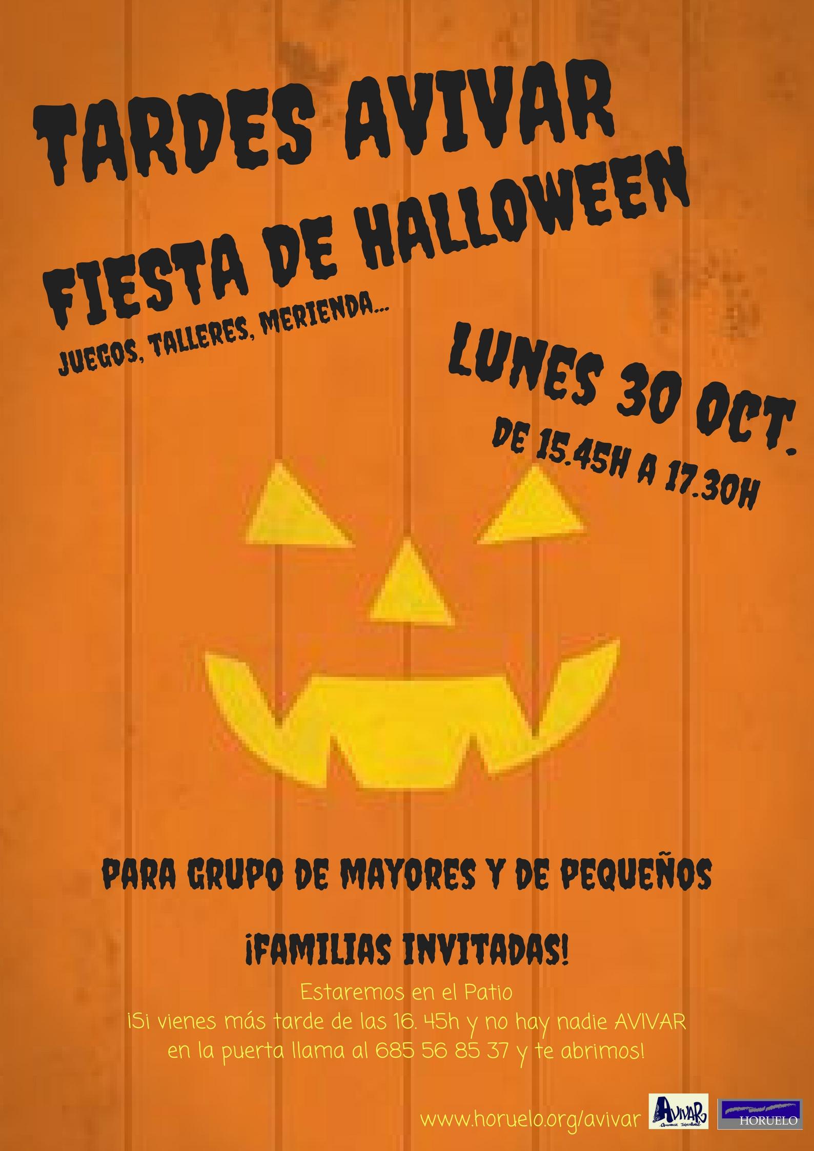Fiesta de Halloween en el CEIP República de Chile