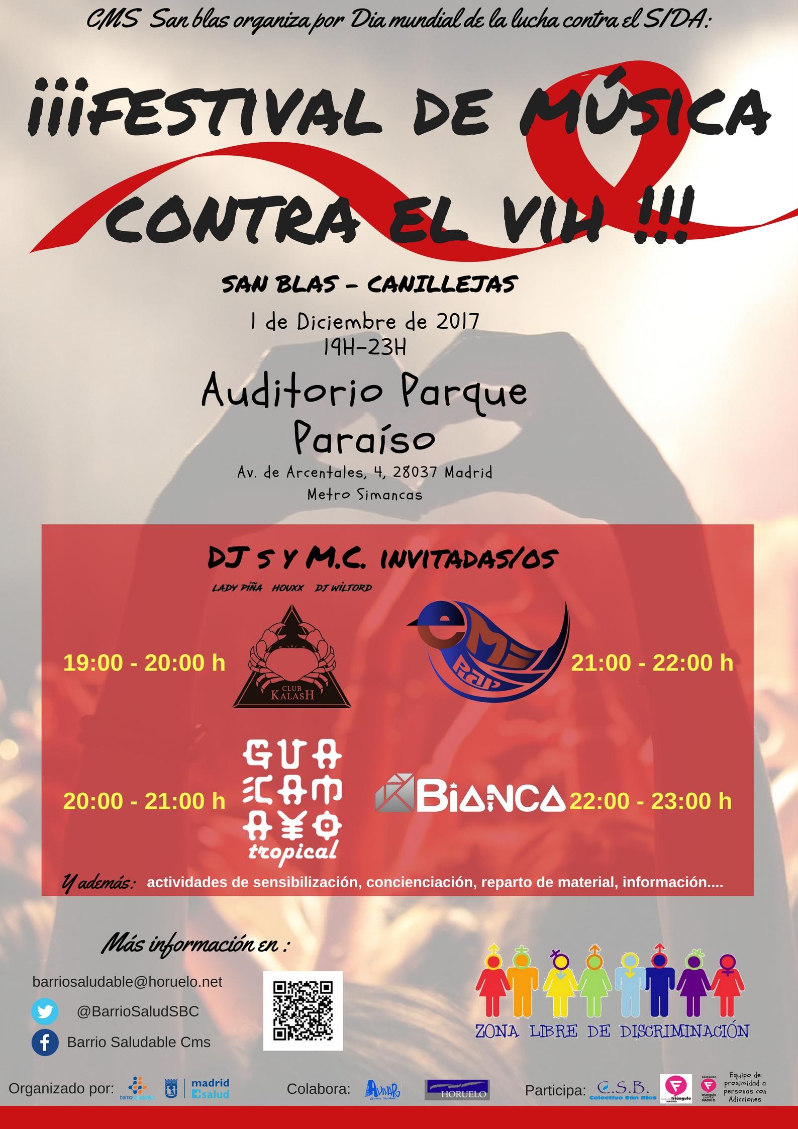 Festival de música contra el VIH