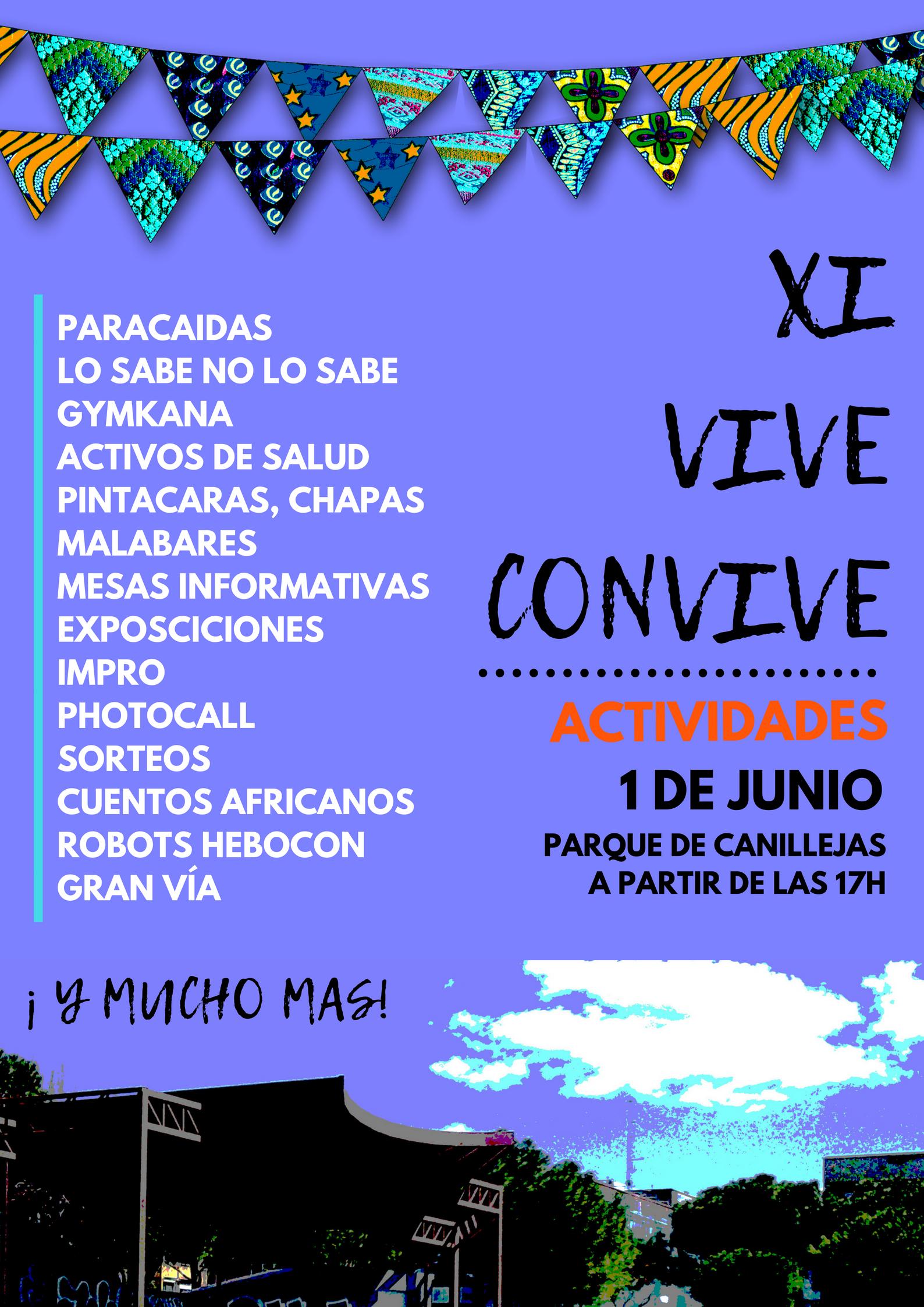 XI VIVE CONVIVE (1) ACTIVIDADES