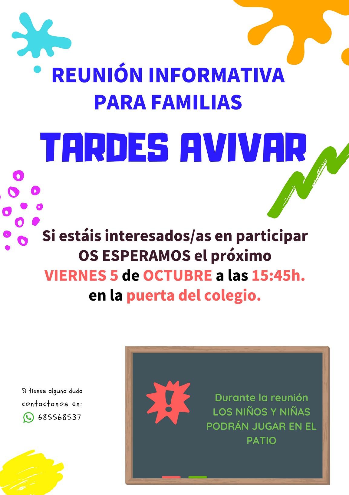 Reunión Informativa CEIP República de Chile