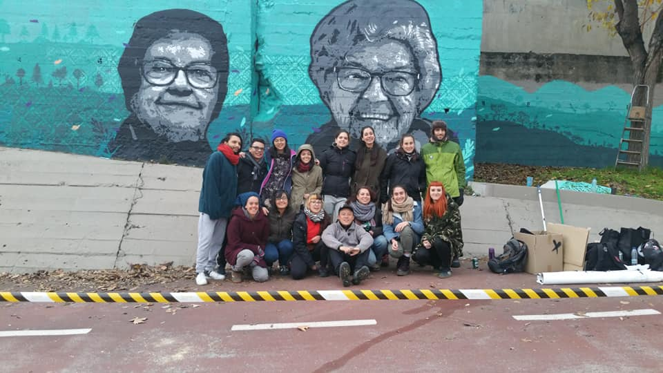 Coloreando el barrio en Ciudad Pegaso