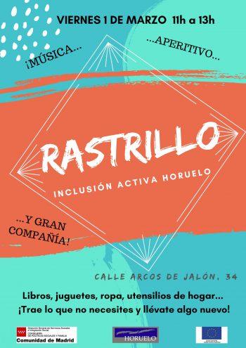 Cartel Rastrillo