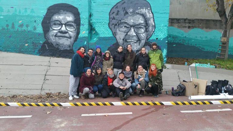 mural gente